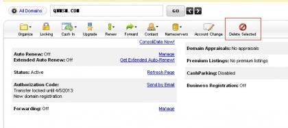 支付宝购买的Godaddy域名退款成功教程